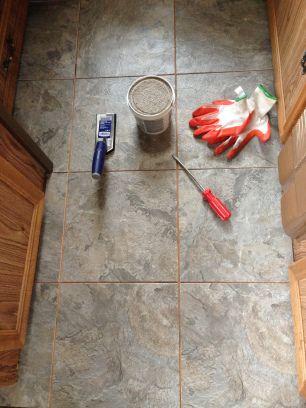 Rv Remodel 4 Floors Camper Flooring Diy Rv Rv Remodel