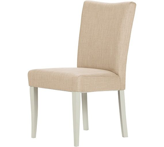 Buy Schreiber Pair of Upholstered Beech Dining Chairs - Natural at Argos.co.uk, visit Argos.co.uk to shop online for Dining chairs, Dining room furniture, Home and garden