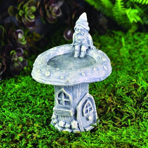 Fairy Garden Birdbath Mini Garden Gnome Bird Bath Fairy
