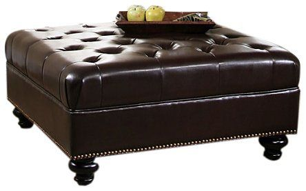 Pleasing Pin By Cheri Anderson On Bat Mbr Leather Cocktail Ottoman Machost Co Dining Chair Design Ideas Machostcouk