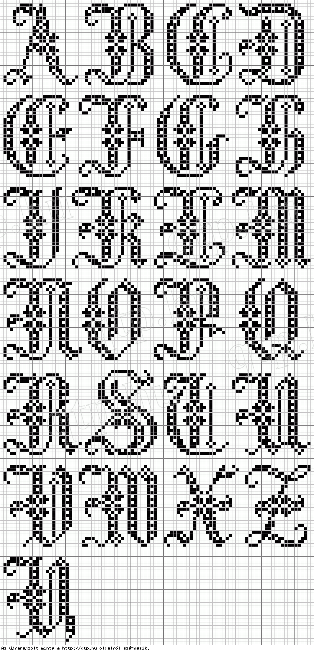 free cross stitch alphabet | Cross Stitch | Pinterest | Kreuzstich ...