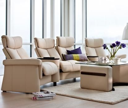 Legend Theater Seating Section By Stressless By Ekornes
