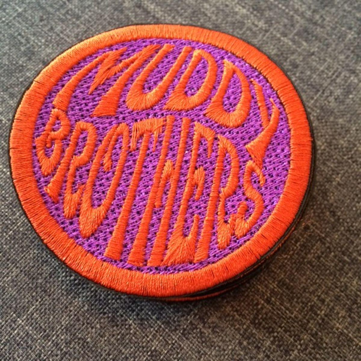 Läjä Records - Patches variados Muddy Brothers