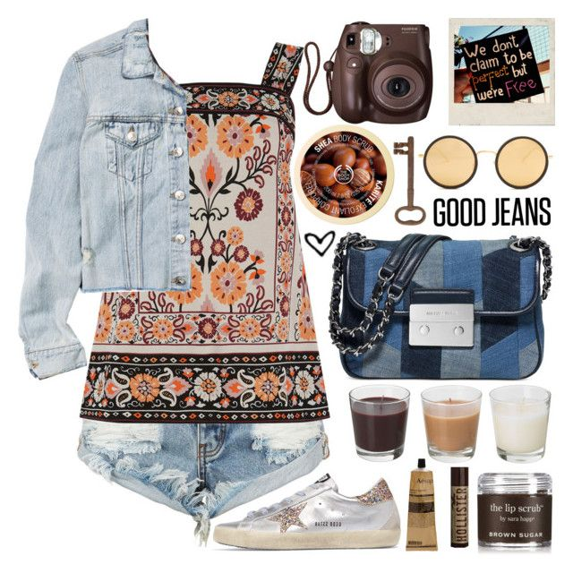 Happiness is love  blue jeans  Polyvore  Blue jean