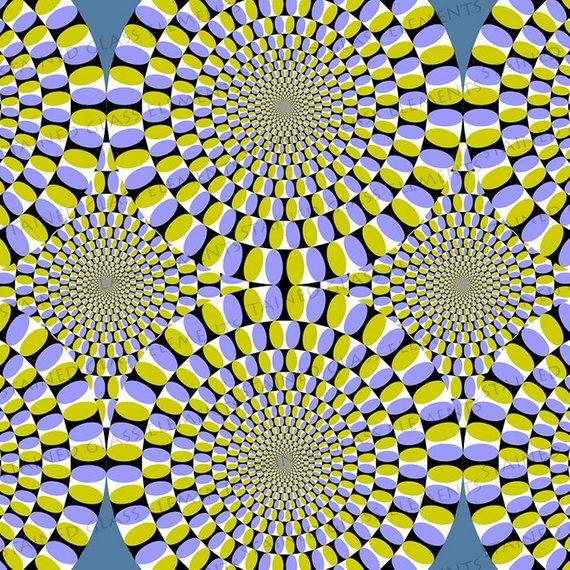 Optical Illusion ceramic decal beautiful waterslide
