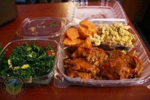 The Land Of Kush In Baltimore Serves Vegetarian Soul Food Vegetarian Recipes Food Vegetarian Life