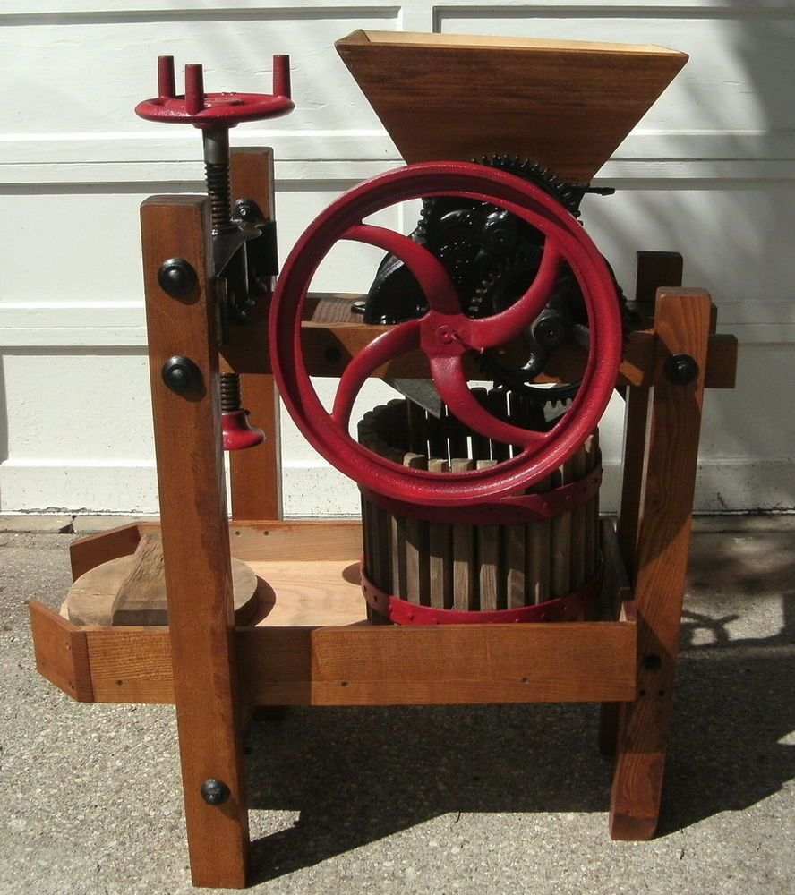 1869 Improved Buckeye Cider Mill And Or Wine Press Number 25 Wine Press Cider Buckeye