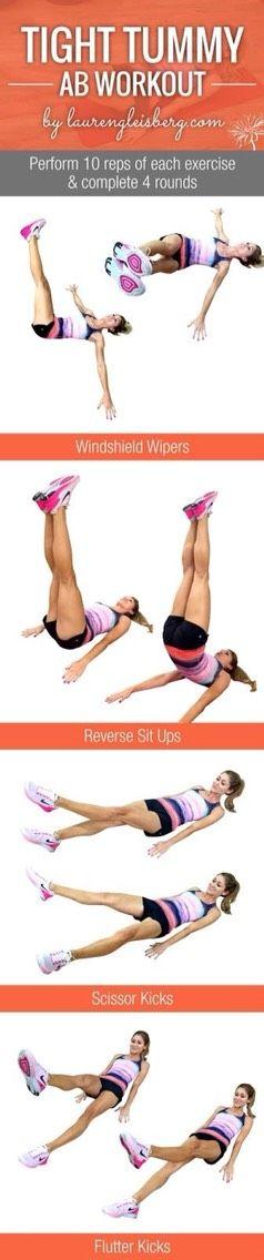 Tight Tummy Ab Workout!