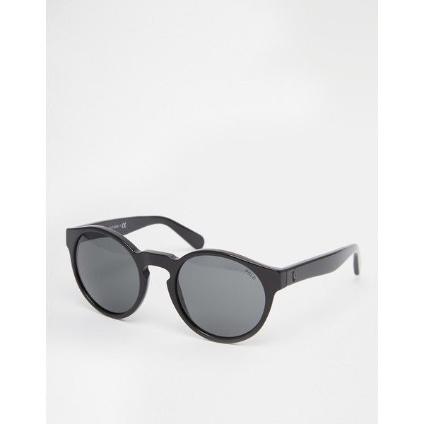 463c6cff33b Polo Ralph Lauren Round Sunglasses (€94) ❤ liked on Polyvore featuring  accessories
