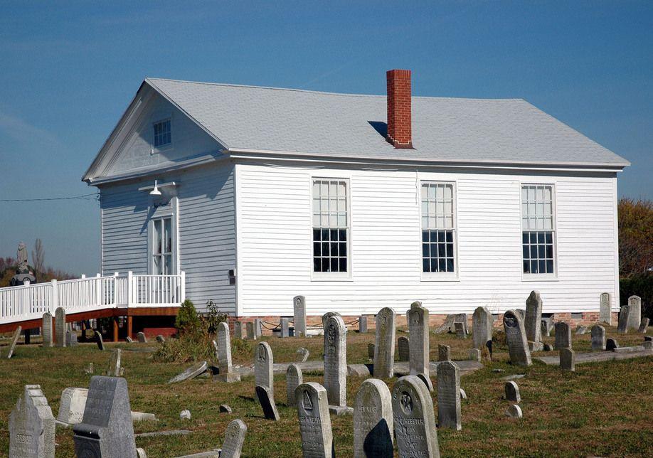 Joshua thomas chapel in deal island md deal island