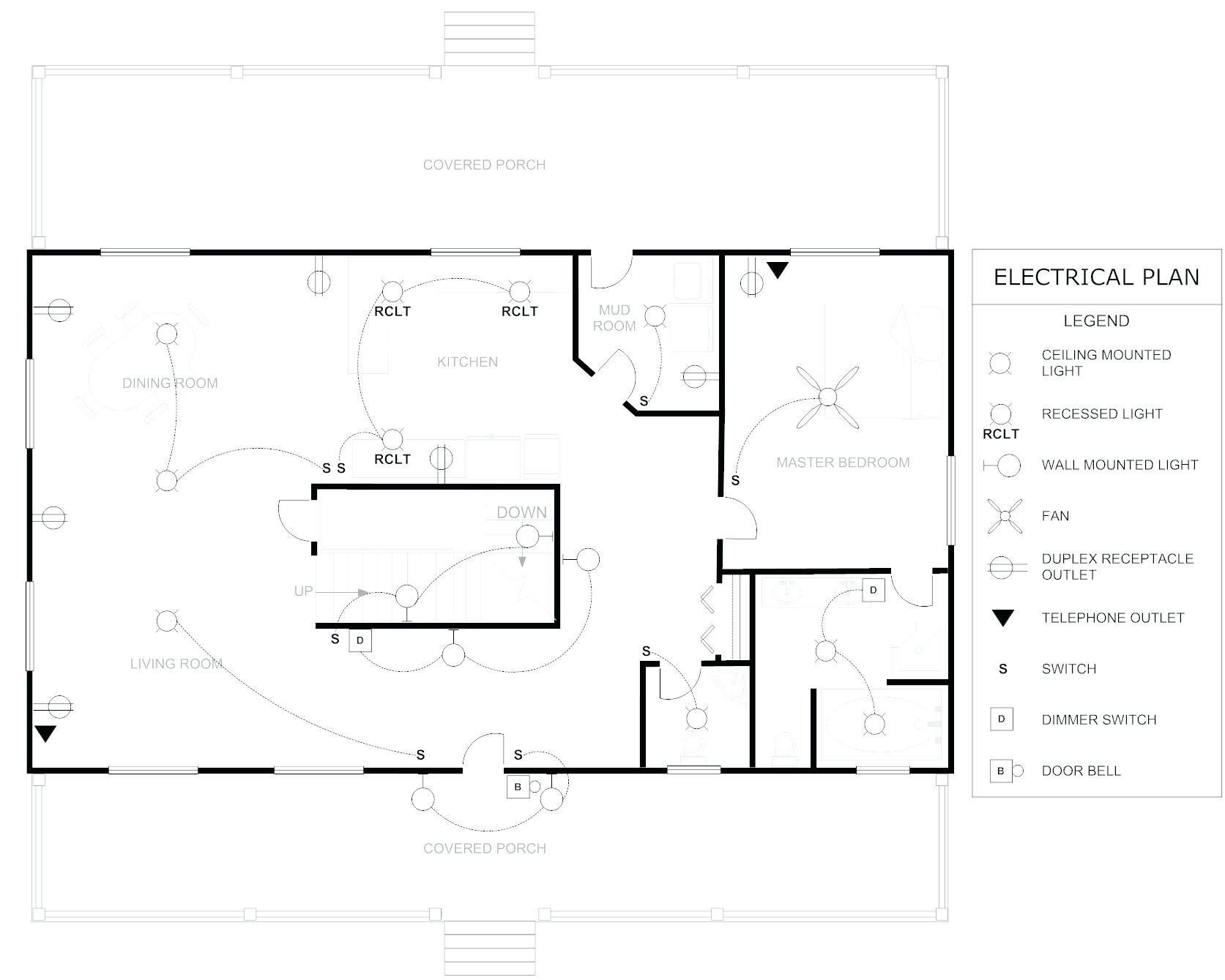 New Electrical Floor Plan Sample Diagram Wiringdiagram