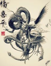 Photo of Japanese Art of the Dragon and Phoenix May Be My Future T …