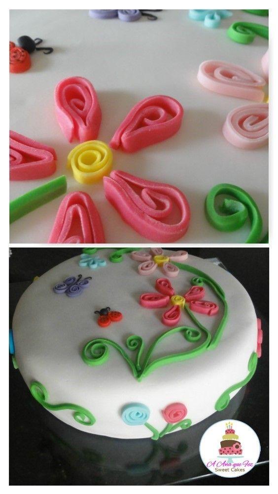 #quilingcake #paperrollcake #anaquefez #anaquefezsweetcake