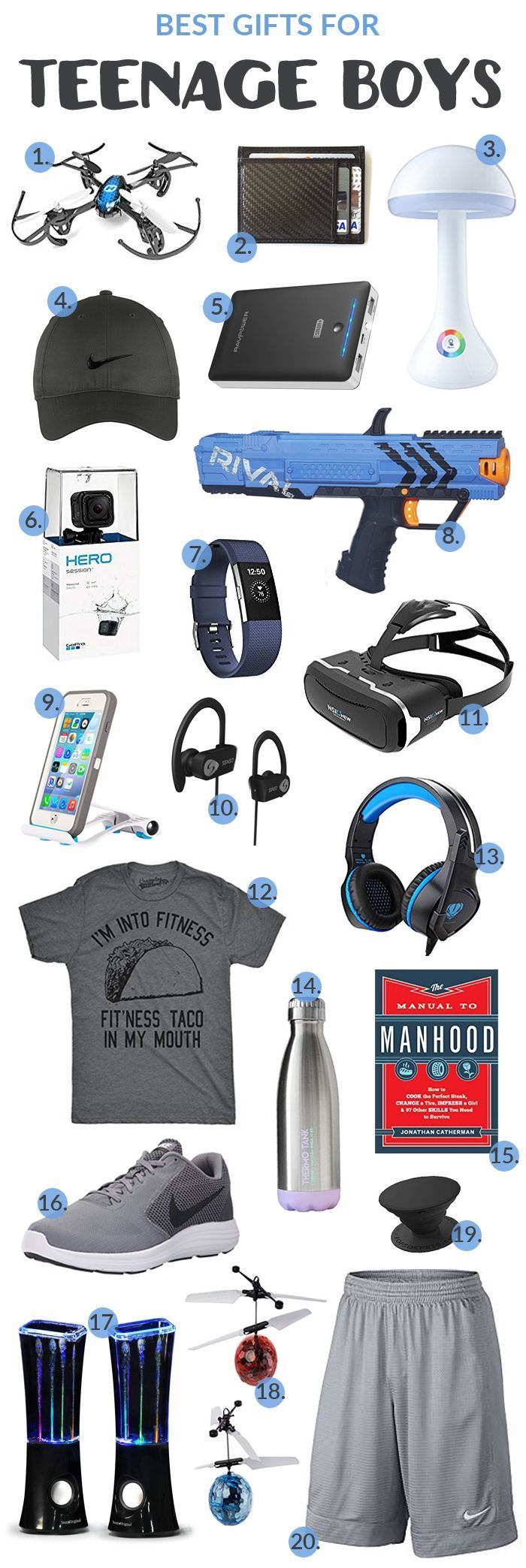 Gift Ideas For Him Teenage Boys Here Are Some Great Gifts
