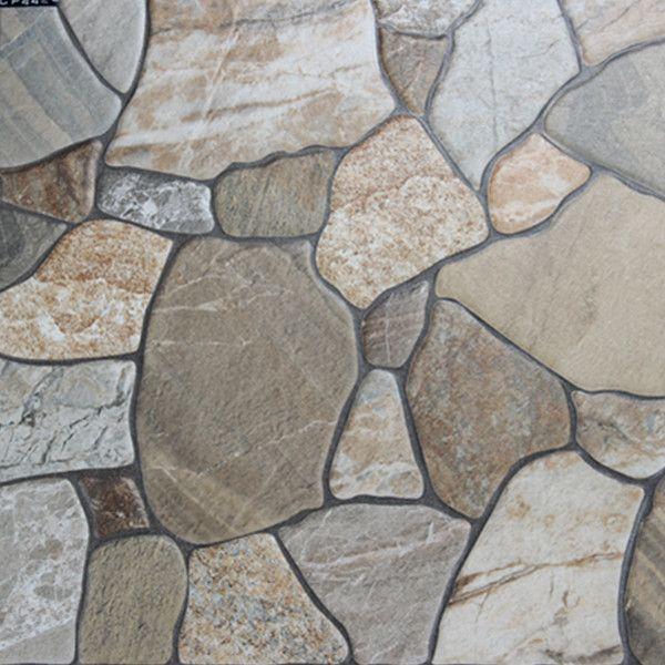 400x400mm Imitation Stone Veranda Floor Tile Outdoor Garden