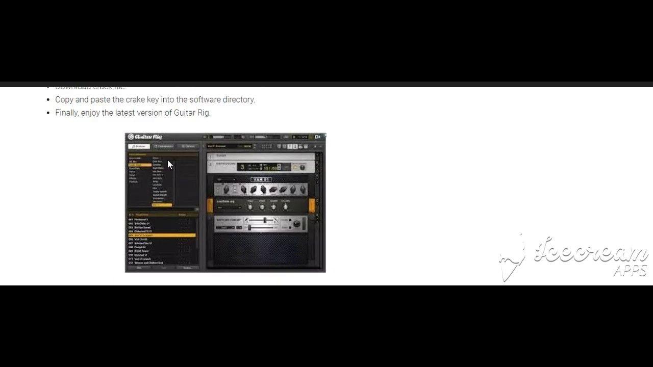 Guitar Rig Pro Crack 5 2 2 + Keygen 2019 Free Download