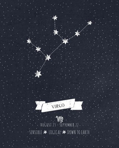 Virgo Birthday Astrology | Virgo | Virgo constellation ...