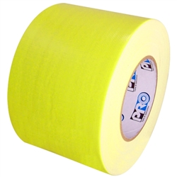 Pro Duct 139 Fluorescent Yellow Duct Tape 4 X 60 Yard Roll 12 Roll Case Duct Tape Tape Duct