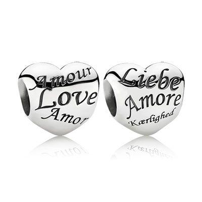 charms pandora amore