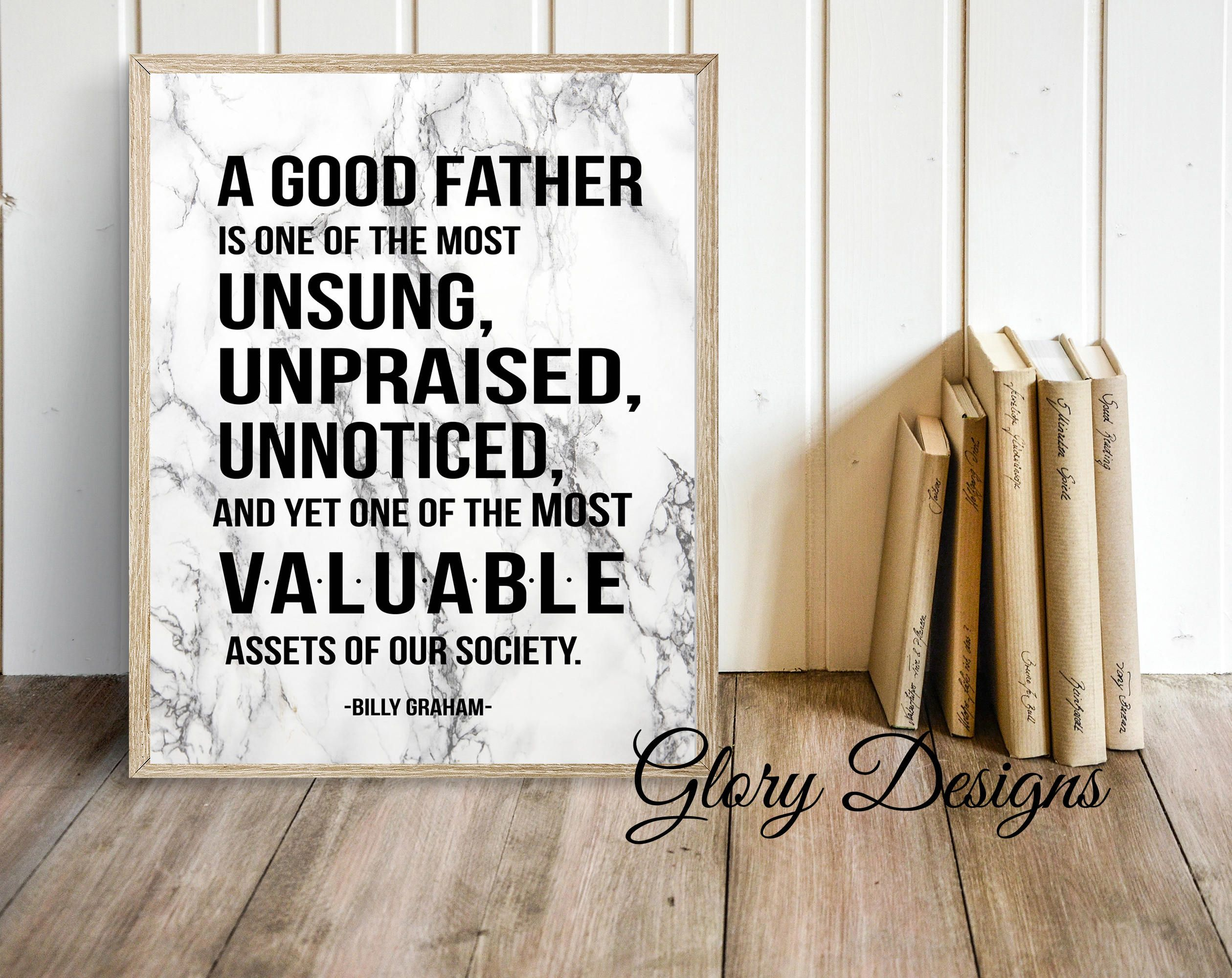 Father's Day Printable, Bible Verse, Scripture art, A good