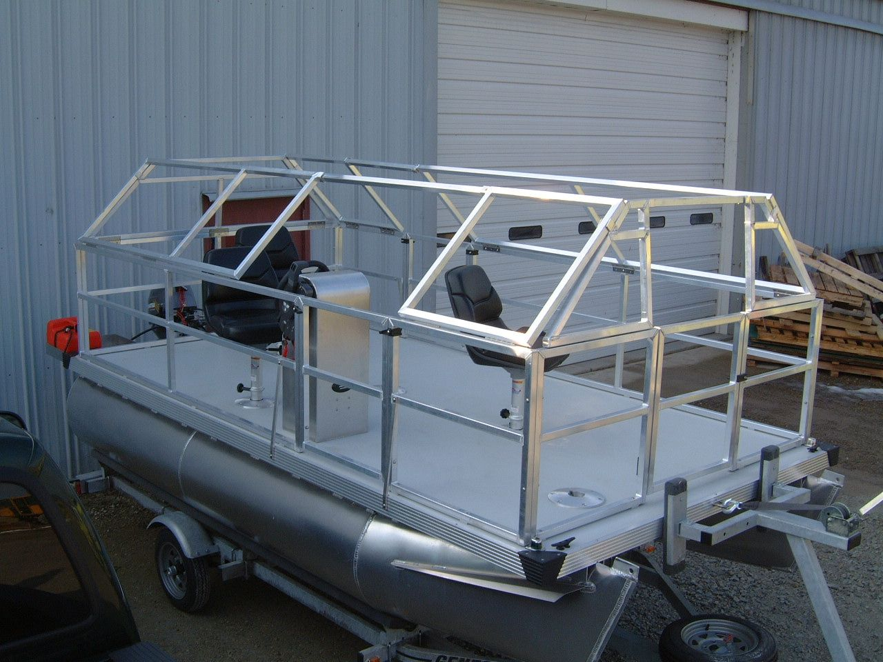duck boats | This is a custom duck boat that has railing to ...