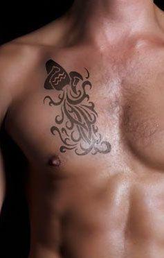 Aquarius Tattoos Designs And Ideas Page 10 Tattoos For Guys Aquarius Tattoo Tribal Tattoos For Men