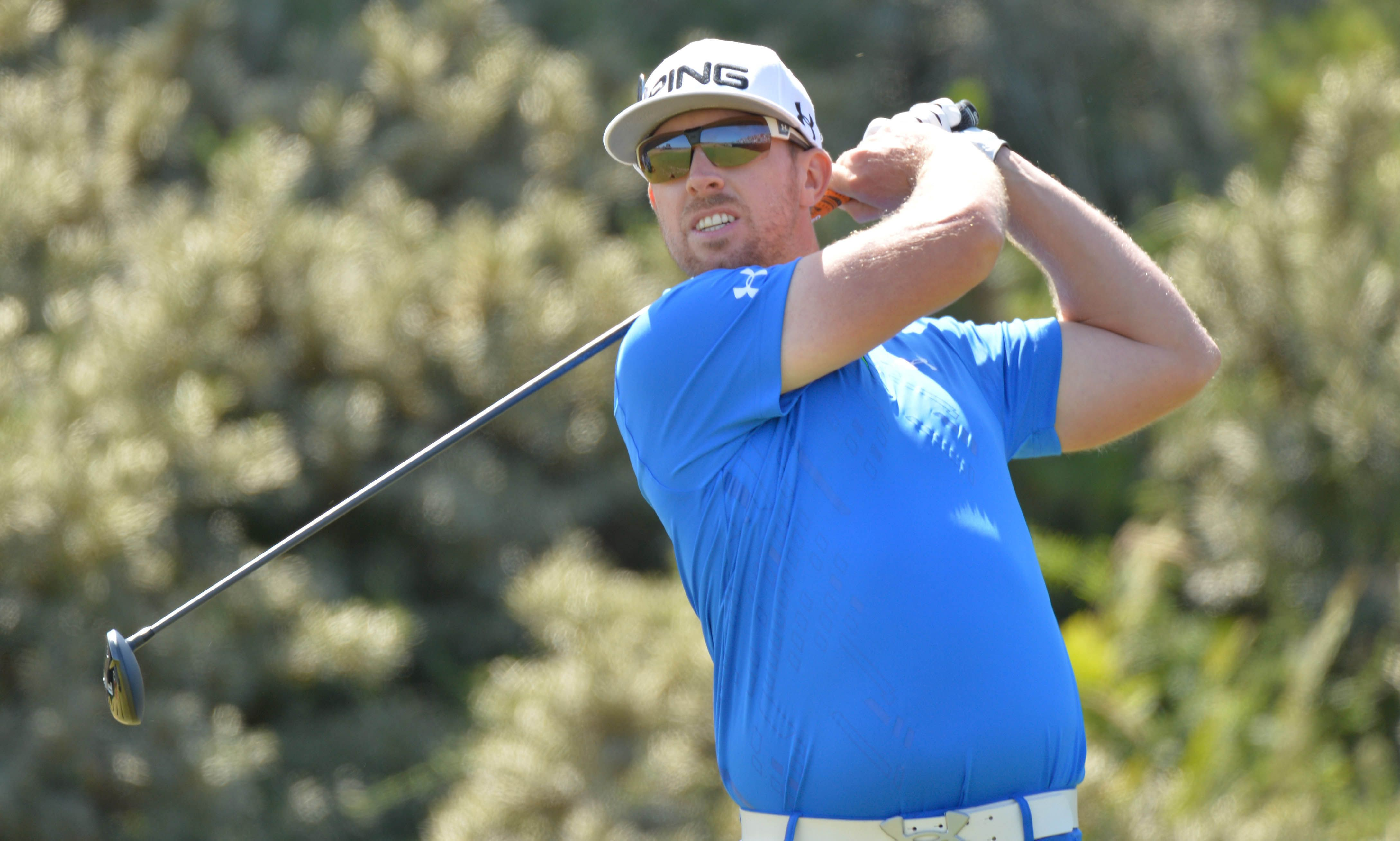 """Golfer and tournament leader, Hunter Mahan has withdrawn from the RBC Canadian Open! The 31 year old American found out his wife had gone into labor and exited the tournament. He said, """"I received exciting news a short time ago that my wife Kandi has gone into labor with our first child. Kandi and I are thrilled about the addition to the Mahan family and we look forward to returning to the RBC Canadian Open in the coming years."""""""
