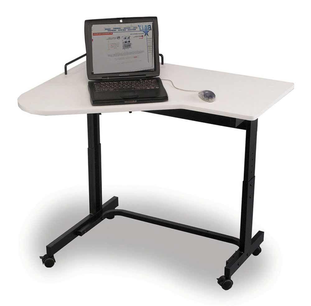 Contemporary Adjustable Height Computer Desk Adjustable Height
