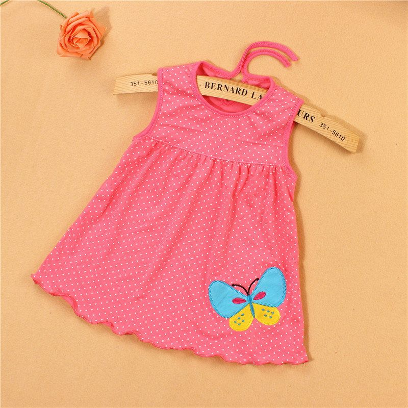 d1b1a0859159 stable quality 15fd5 13e21 summer dress cute girl dress cotton baby ...