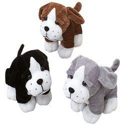 Dog Party Supplies, Sitting Dog Favors, Dog Party Favors
