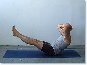 Ardha Navasana Half Bat Pose Yoga Poses For Men Poses Boat Pose