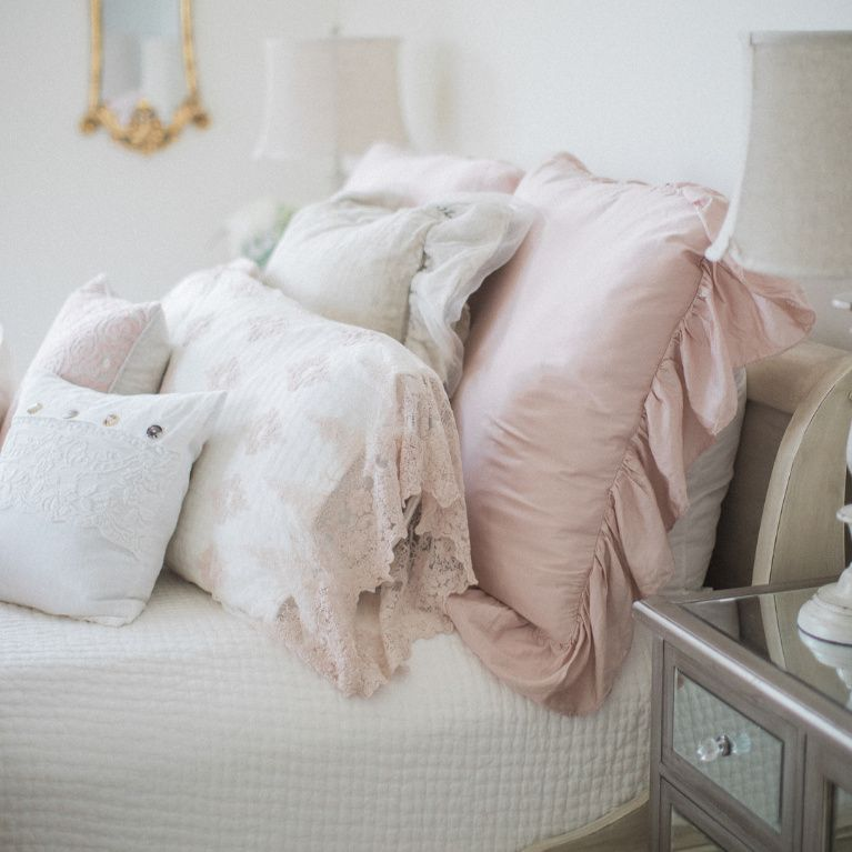 Romantic Pastel Interiors Timeless French Country Brit Jones Hello Lovely In 2020 French Country Bedrooms French Country Decorating Country House Decor