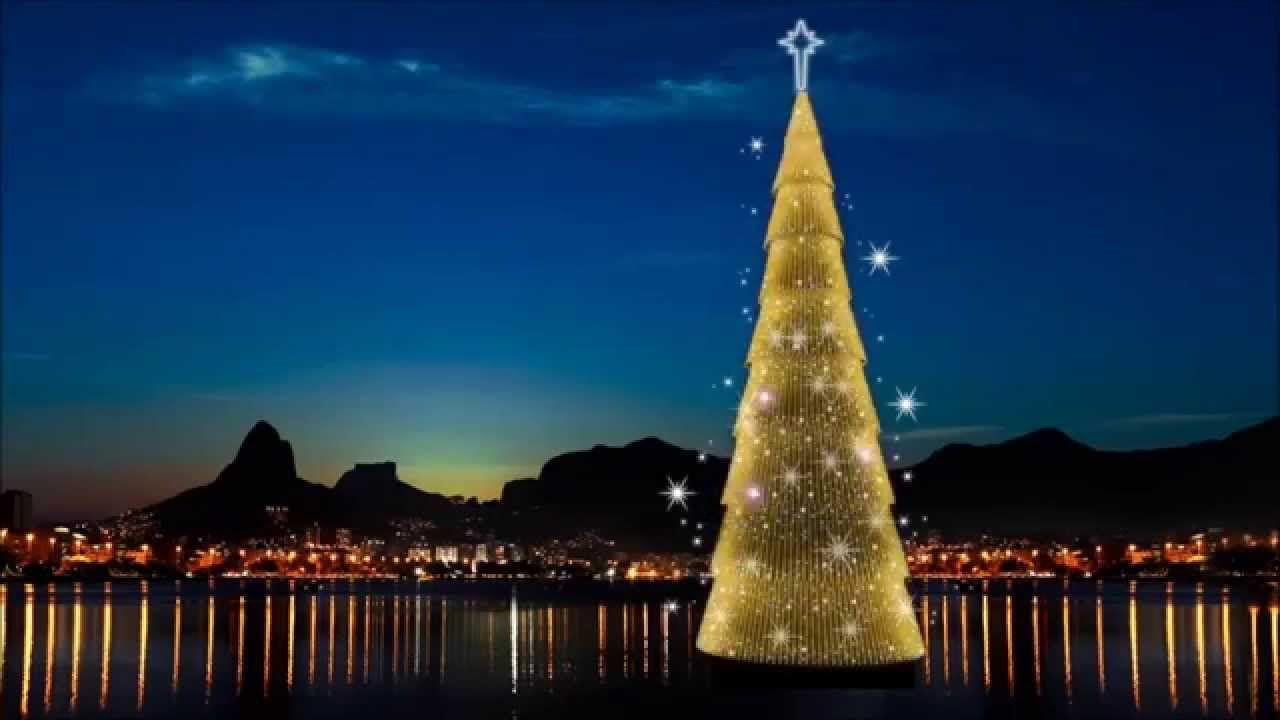 Árvore de Natal da Lagoa 2015/2016 Rio de Janeiro - YouTube