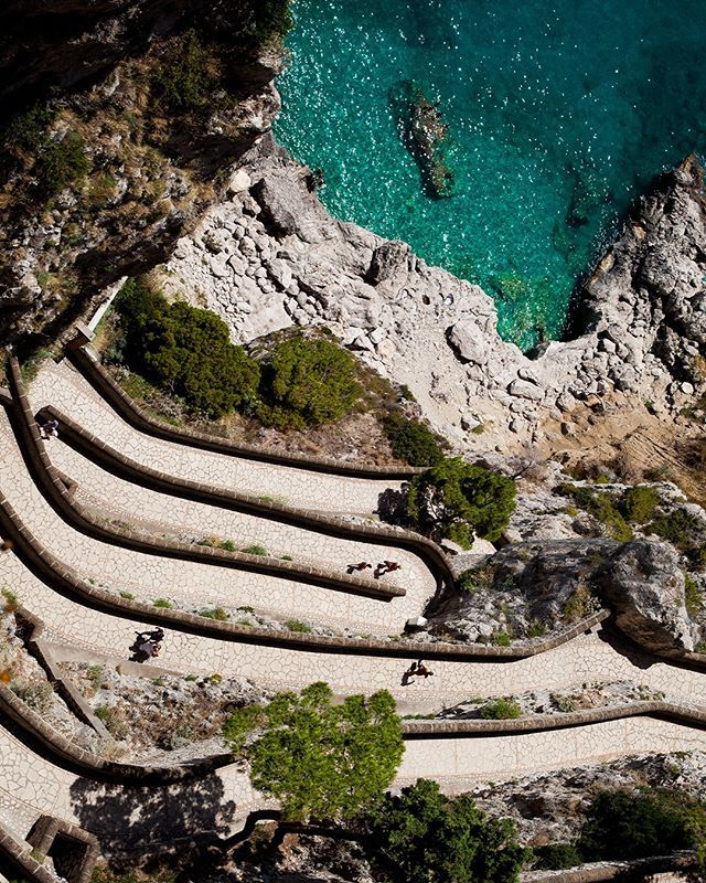 Vacation Photos: Capri | A Cup of Jo  |Capri Beach Scenes