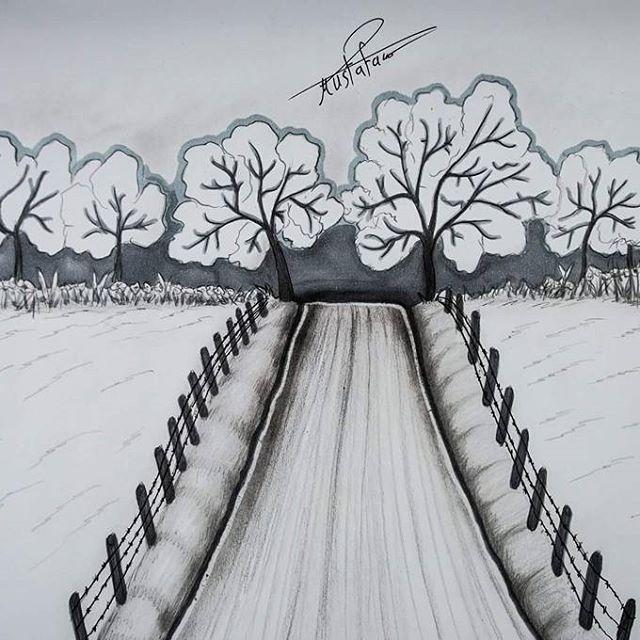 رسم منظر طبيعي بالرصاص الخطوات على قناتي في اليوتيوب بأسم مصطفى سعدي Mustafa Saadi28 مصطف Art Photography Portrait Art Sketches Doodles Anime Wallpaper Live