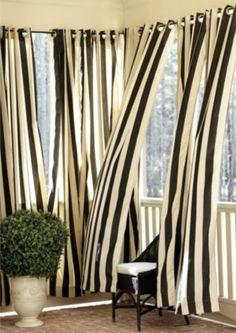 black and white stripe drapery Google Search RCSB Ale Pinterest