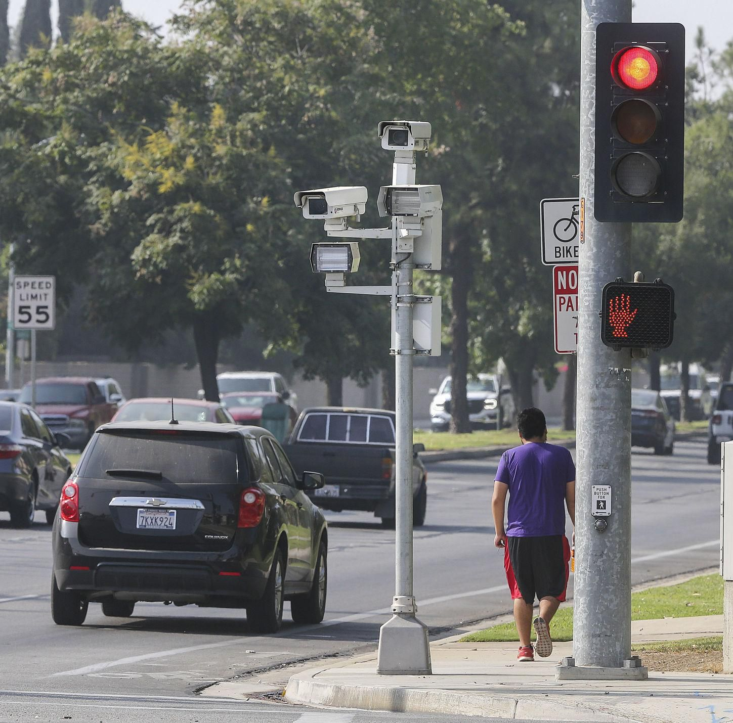 As Red Light Camera Citations Tripled In The Last 10 Years City Maintains Program Saves Lives Red Light Camera Light Red Camera