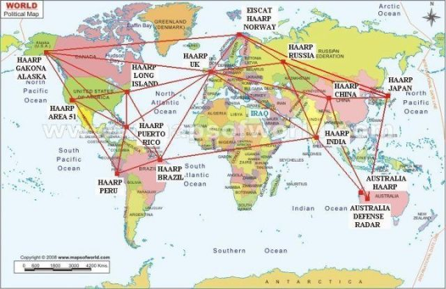 haarp locations worldwide map ABOUT THIS PROJECT HAARP - fresh google world map offline