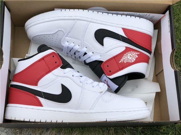 meet 9eaaf 53775 Jordan 1 Mid Chicago Remix in box Air Force Sneakers, Nike Air Force,  Sneakers