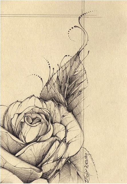 Vintage Rose Tattoo Desing Body Art Pinterest Tattoos Artist