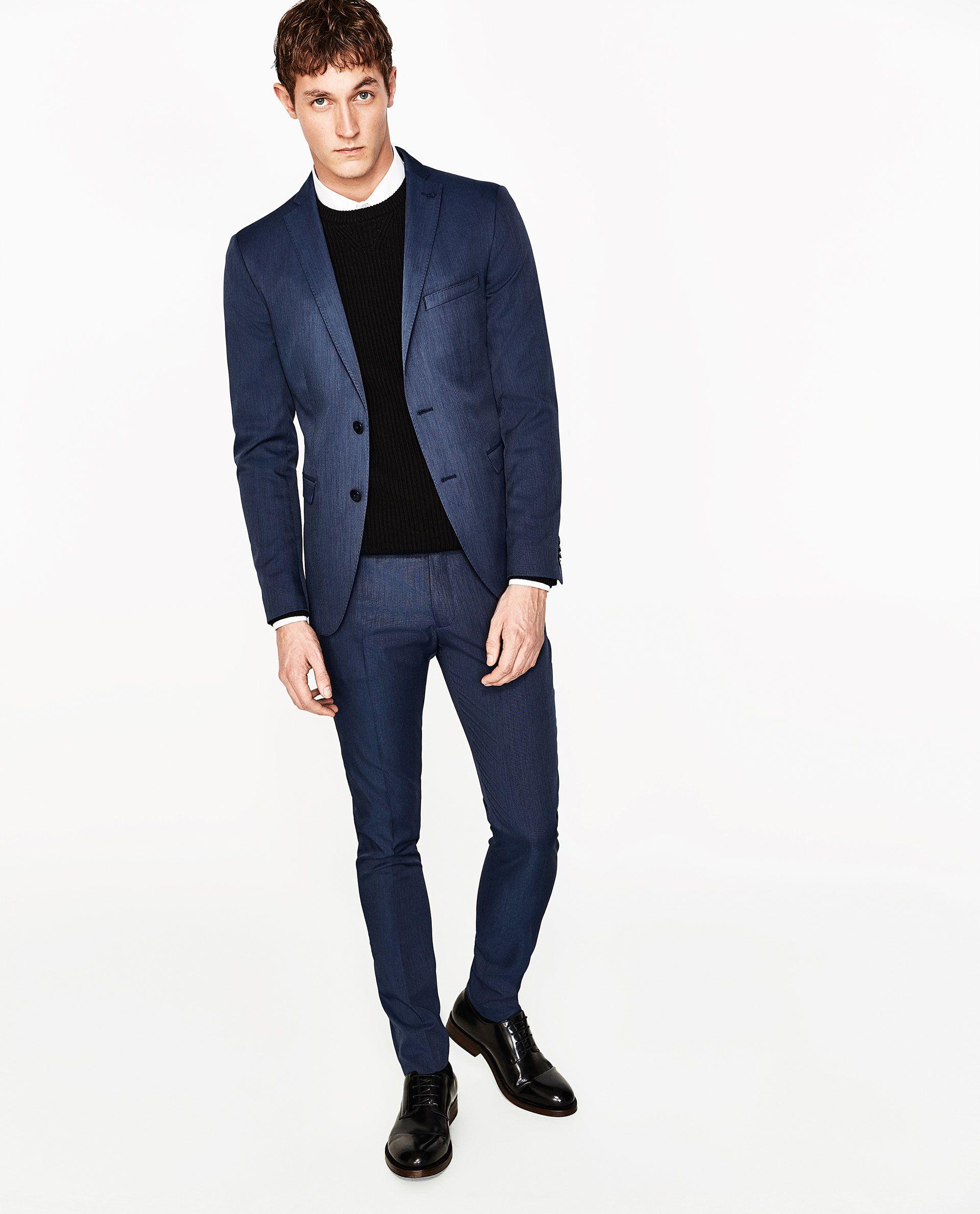 9b3ce942da Image 1 of COOLMAX SUIT BLAZER from Zara | Clarks | Suits, Blazer ...