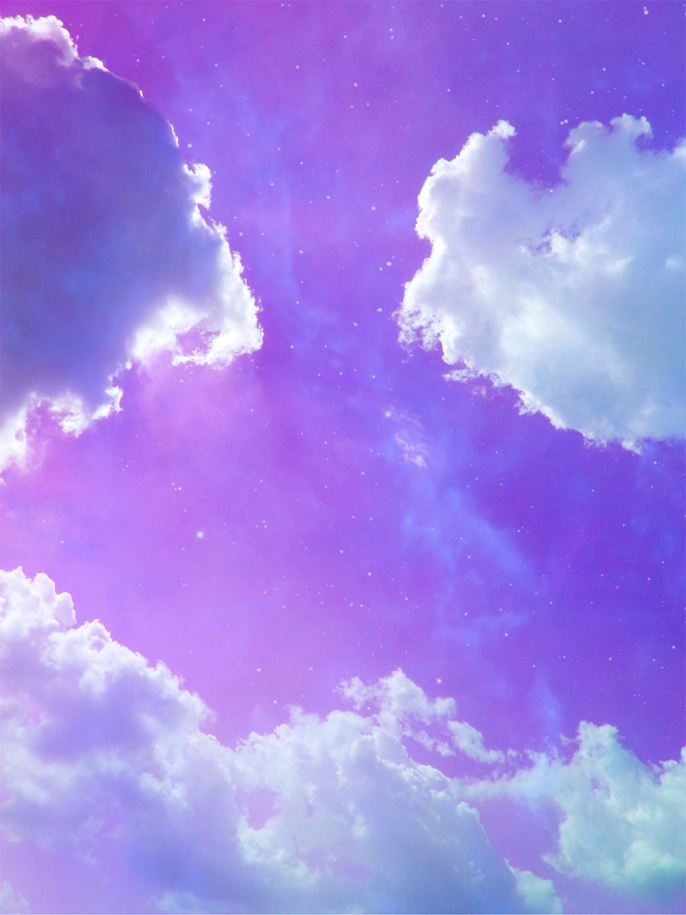 Небо сиреневое картинки