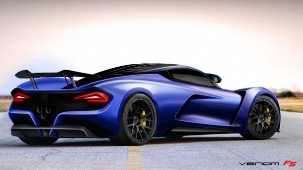 The Hennessey Venom F5 aims to be world s fastest car at close to