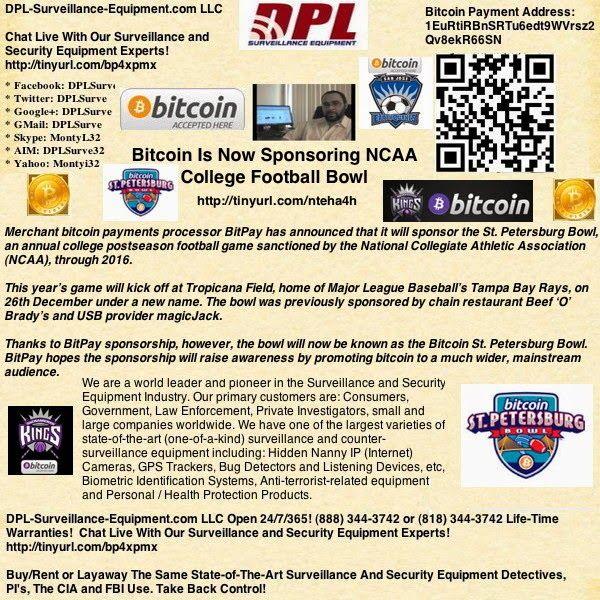 DPL-Surveillance-Equipment.com: Bitcoin Is Now Sponsoring ...