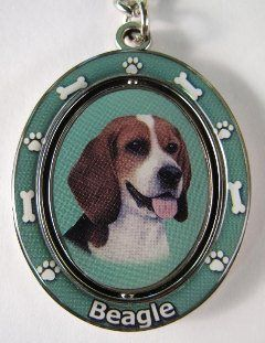 Beagle Merchandise Available Here Spinning Keychain Pets