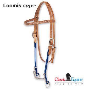 Classic Equine Loomis Gag Bit Browband