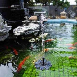 Floating Solar Ed Fountain Water Pond Pump 1 6w For Garden Feature