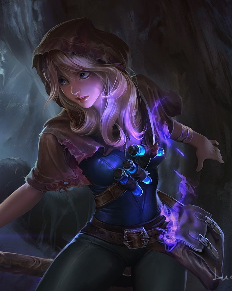 """league-of-legends-sexy-girls: """" Lux """""""