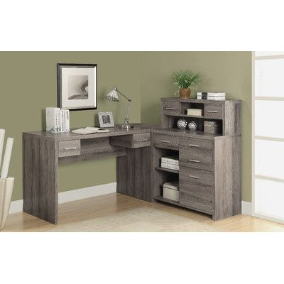 Found it at Wayfair - Edmiston Computer Desk with Hutch Office