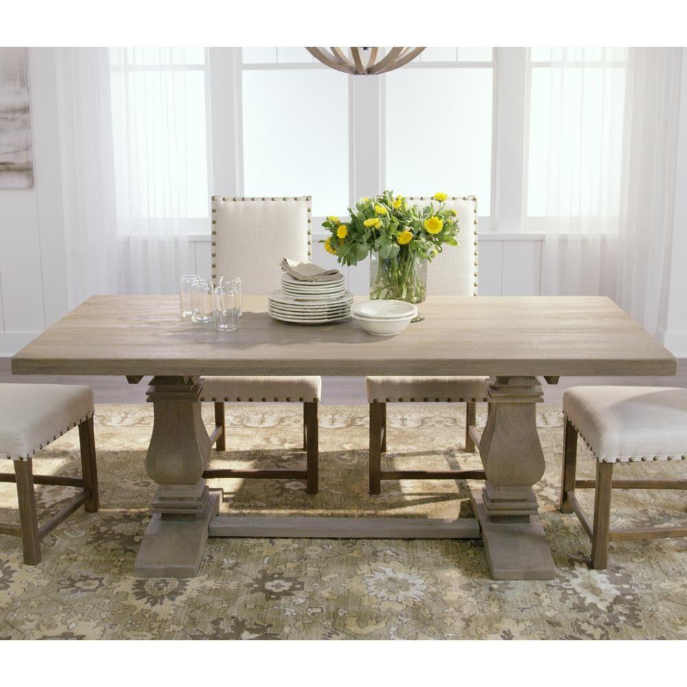 Aldridge Antique Grey Rectangular Dining Table Nb 063ag Grey